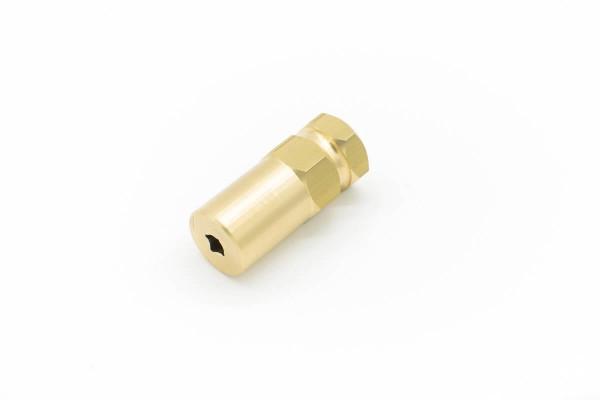 Motorkupplung | Zenoah/RCMK | 6,35mm (1/4'') | Vierkant