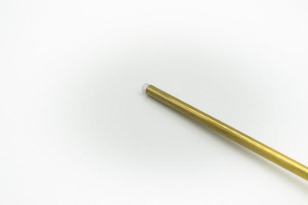 Messingrohr mit Teflon ( PTFE ) | 0,33m | für Flex 6,35mm